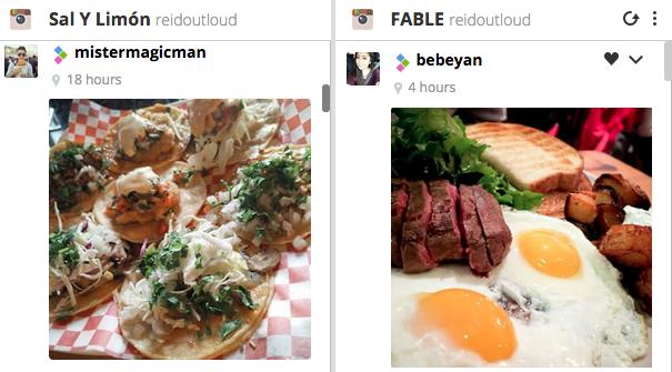Hootsuite Instagram Restaurants Reid Robinson